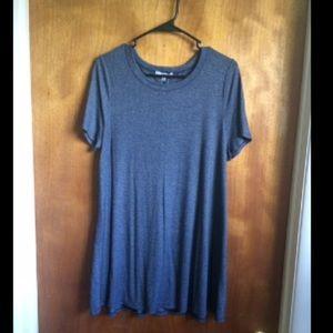 Aminco Tops - NWT blue tunic t shirt