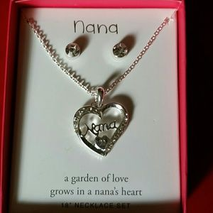Jewelry - BUNDLE 💖 💙 ❤3 piece Nana gift set.❤💙💖