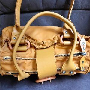 Handbags - Francesco  Biasia yellow bag