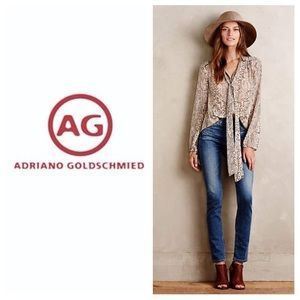 AG Adriano Goldschmied Denim - NEW!  AG Adriano Goldschmied hi-waist skinny jeans