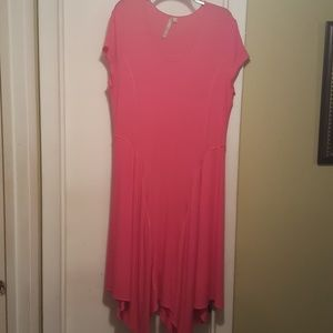 Comfy USA Dresses & Skirts - Adorable pink t-shirt dress