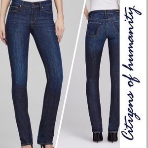 Citizens of Humanity Denim - Citizens of Humanity Elson Med Rise Straight Leg