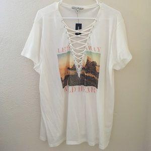 Express wild heart ❤️ t shirt