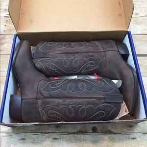 Tony Lama Shoes - Tony lama new in box women's brown cowboy boots