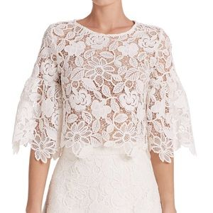 Alexis Tops - AUTH Alexis flare sleeve lace top INTERMIX Valery