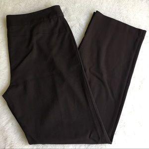 Eileen Fisher Dark Brown Work Pants size S
