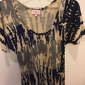 Graphic print t-shirt dress! Plenty by Tracy Reese