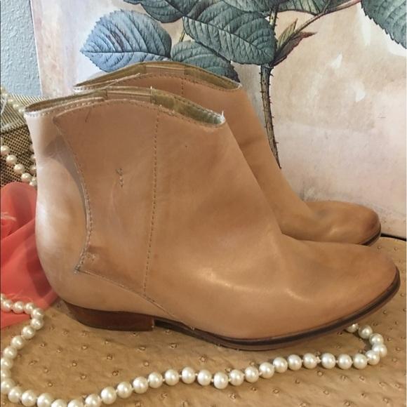 95d398b3b7e Anthropologie Shoes - Anthropologie Latigo Aria hidden wedge booties 10