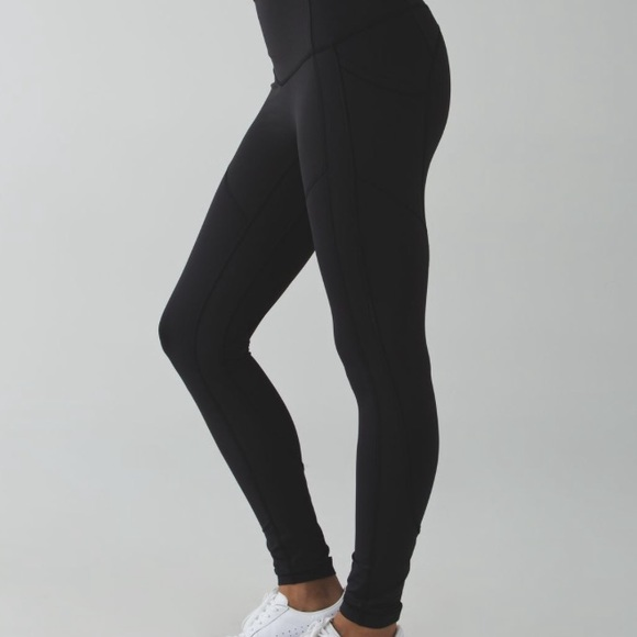 5ebd2a27d232b lululemon athletica Pants - Lululemon All the Right Places Black Pant