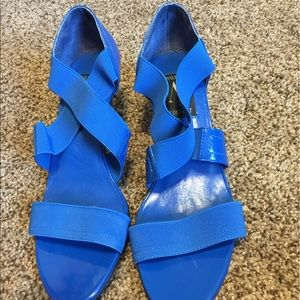 Aj Valenci Shoes - Blue sandals