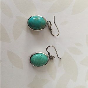 Jewelry - Turquoise and silver earrings