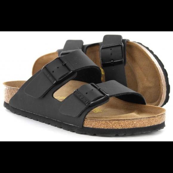 Birkenstock Arizona Matte Black Sandals