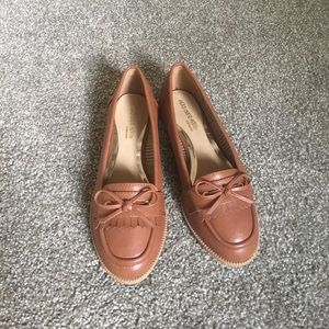Head Over Heels Shoes - Brown Size 8 Loafers