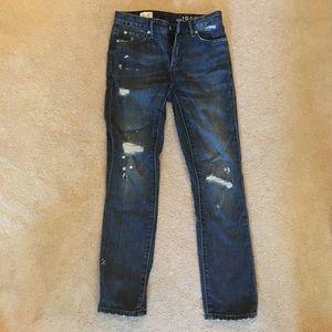 Gap 1969 Distressed jeans