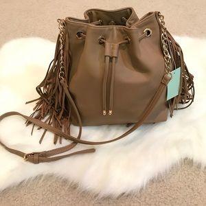 Deux Lux Handbags - Brand new Deux Lux camel fringe hobo bag