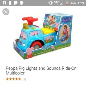 Peppa Pig Other - Baby car