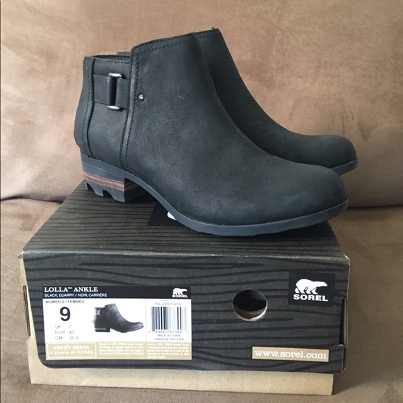 Sorel Womens Lolla Ankle Boot