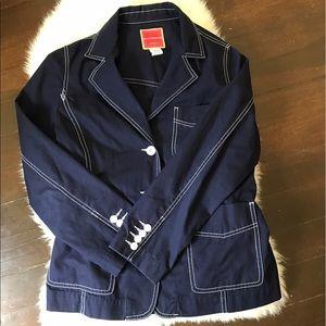 Isaac Mizrahi Jackets & Blazers - Isaac Mizrahi Blazer with Piping SZ M