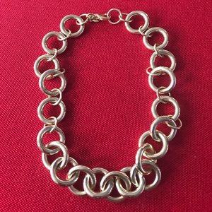 JCrew Gold Link Necklace