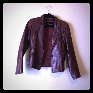 Wilsons Leather Jackets & Blazers - VINTAGE wilsons burnt red leather jacket. Small 4