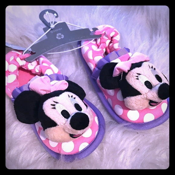 Adorable Disney/'s Minnie Mouse Girls/' Shoes Various Sizes NEW