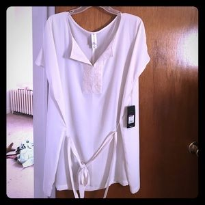 Pure Energy Tops - Pure energy belted blouse