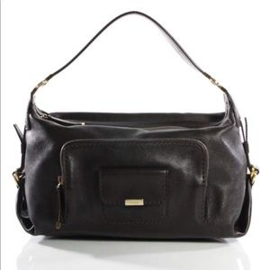 Tod's Handbags - Tod's Black Leather Purse Satchel