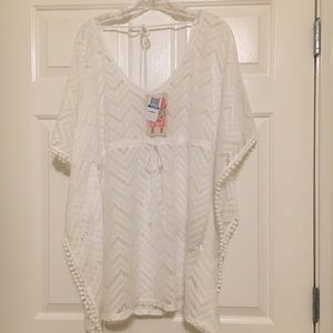 Miken Other - Miken Swim XL Poncho Cover-up