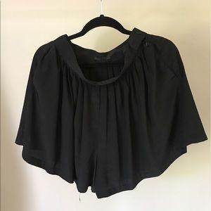 The Row Pants - THE ROW Silk Black Shirts Sz 6