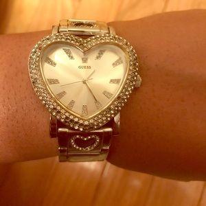Heart Shape Guess Watch