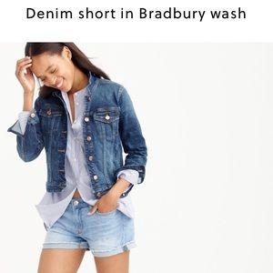J. Crew Pants - J. Crew denim short in Bradbury wash
