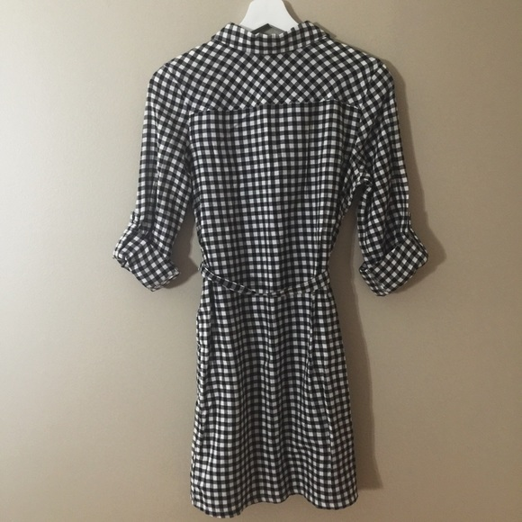 47 Off Old Navy Dresses Skirts Black White Gingham