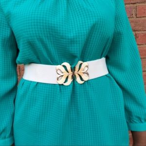 Vintage Accessories - Vintage elastic waist adjustable belt