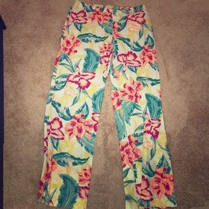 NWOT Hawaiian print 100% cotton pajama pants 🌺
