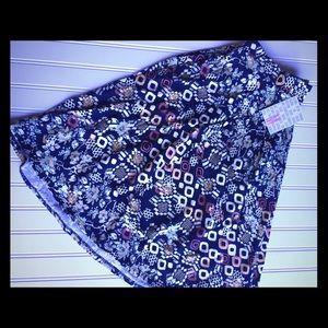 Lularoe Madison Skirt M BNWT