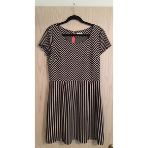 Maison Jules Fit and Flare Dress