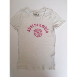 Abercombie Kids Other - Abercrombie Kids White Logo Tee
