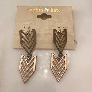 sophia & kate Jewelry - BNWT gold earrings
