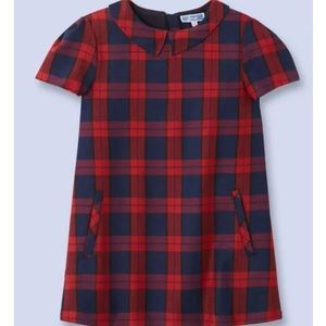 Jacadi Other - Jacadi Paris Red/Navy Plaid Dress