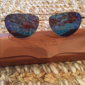 Oliver Peoples Accessories - Oliver Peoples Benedict Polarized Glasses w/ case