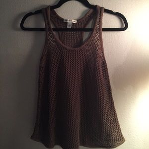 Autumn Cashmere Tops - Cotton By Autumn Cashmere Skull Knit Tank