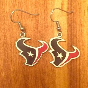 Jewelry - NWOT Houston Texans Earrings