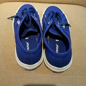 Superga Shoes - Superga Blue Sneakers