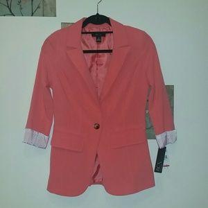 BCX Jackets & Blazers - Coral Blazer