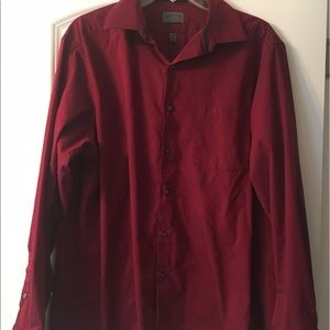 Arrow Other - Maroon Button Down Shirt