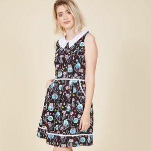 ModCloth Dresses & Skirts - Feline nature dress