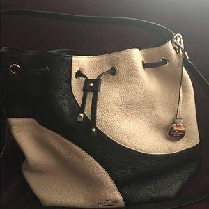 Kate Spade two-tone bucket bag