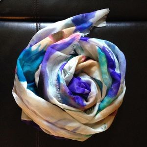 Ananda Design Accessories - Beautiful water color printed scarf