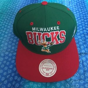 Mitchell & Ness Other - Mitchell & Ness Milwaukee Bucks SnapBack