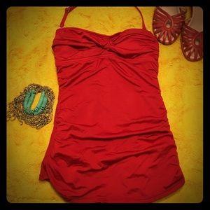 Jantzen Other - Jantzen One Piece Bathing Suit RED Vintage